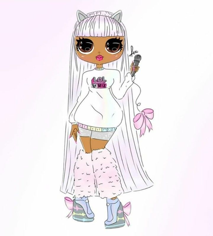Pin By Ava Skeen On L O L O M G Lol Dolls Cute Coloring Pages Art Drawings Sketches Simple