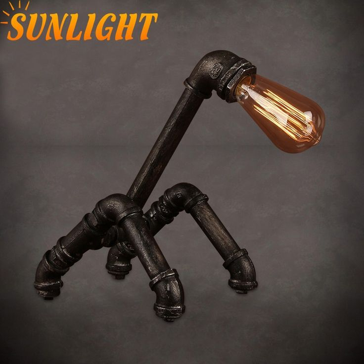1000 Ideas About Industrial Table Lamps On Pinterest