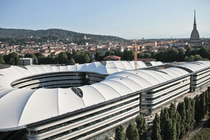 foster + partners complete turin university faculty building