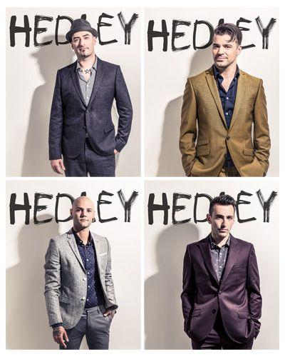 Hedley, Jacob Hoggard, Dave Rosin, Chris Crippin, Tommy Mac♥