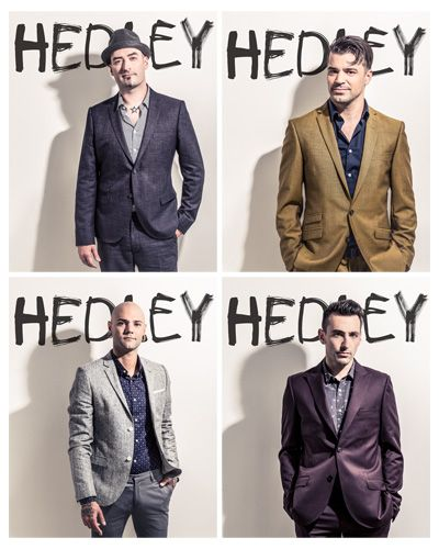 Hedley, Jacob Hoggard, Dave Rosin, Chris Crippin, Tommy Mac♥  *just pinning this for my husband*