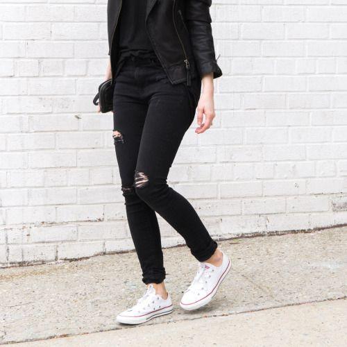When in doubt, wear Converse.