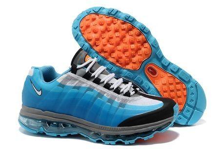 Mens Nike Air Max 95 BB White Blue Black Grey Trainers UK
