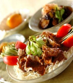 豚しゃぶのサラダ素麺」の献立・レシピ - 【E・レシピ】料理のプロが ... 豚しゃぶのサラダ素麺の献立