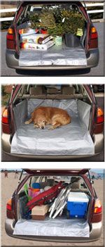 CarGo Aprons Removable cargo liner for your car. Available in small, medium, large & X-large. EASY TO USE - Cargo liner goes in and out in less than a minute.
