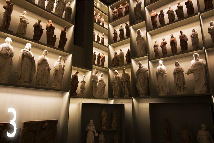 Scorcio di una delle splendide 26 sale del Nuovo Grande Museo del #duomodimilano #giorno3 #calendarioAvventoAUG