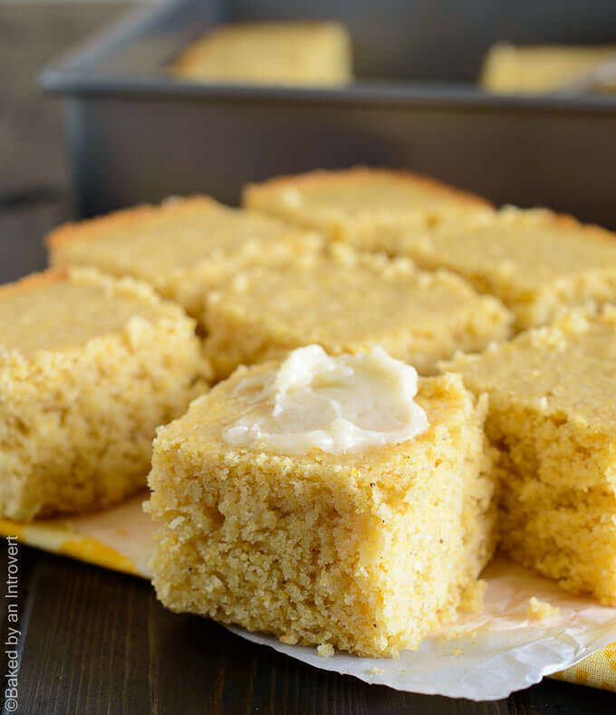 "This flavorful, moist, crumbly, maple brown butter cornbread is by far the best I've ever had! It crumbles the way a good cornbread should without being anything close to dry. You will be asking, ""Is this cornbread or is this cake?"" 