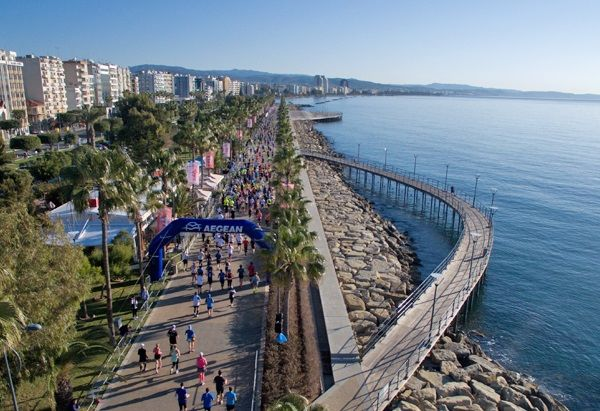 Aegean Supports OPAP Limassol Marathon GSO 2018