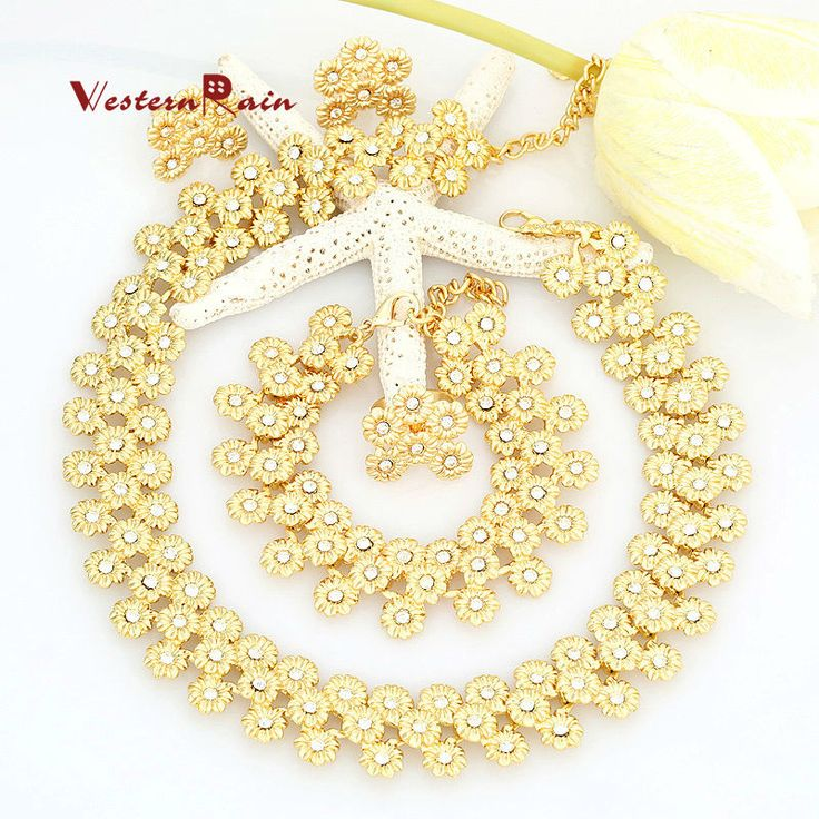 Find More Jewelry Sets Information about WesternRain 18K Gold Plated Chunky Fashion Flowers Jewelry African Costume Necklace For Women Jewelry Sets A001X,High Quality necklace bull,China necklace novel Suppliers, Cheap necklace jewelry box from Shop717437 Store on Aliexpress.com