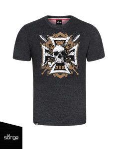Koszulka HUSARZY ŚMIERCI ciemny melanż