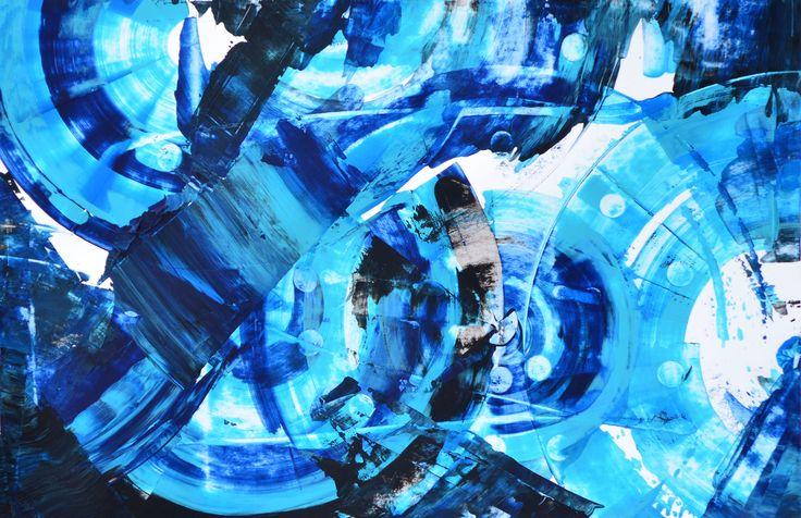 Soyut Sanat / #Abstractart by Oznur Koc   #art #artwork #painting #artgallery #artcollector #resim #abstract #eser #galeri #sergi #soyut #contemporaryart