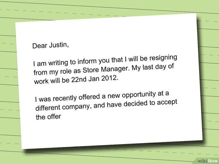 Best 25+ How to write a resignation letter ideas on Pinterest - how to write a resume wikihow
