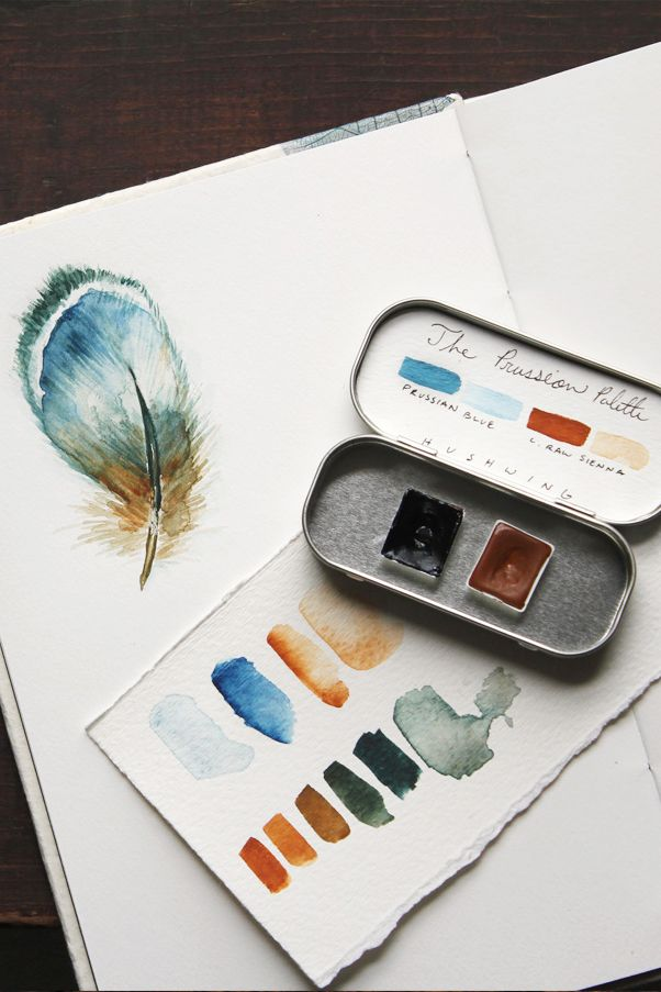 The Art Of Making Watercolour Paints Watercolor Pallet