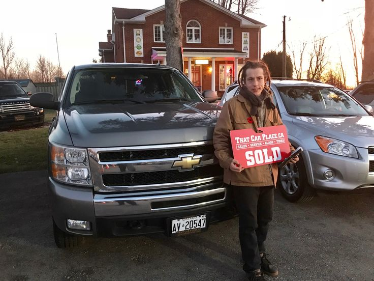 Curtis McClay and his 2009 Chevy Silverado from That Car Place - London. Awesome truck! Thanks for choosing TCP Curtis!