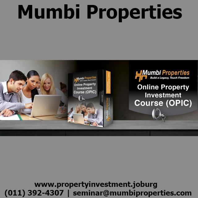 Buying an investment property should always be in line with your strategy #LegacyOnlineCourse After completing the Mumbi Properties online property investment strategies course you will be on your way to becoming a well-educated property investor. For more information on the course being offered please contact us for a free consultation www.propertyinvestment.joburg | (011) 392-4307 | seminar@mumbiproperties.com Click the link to read more