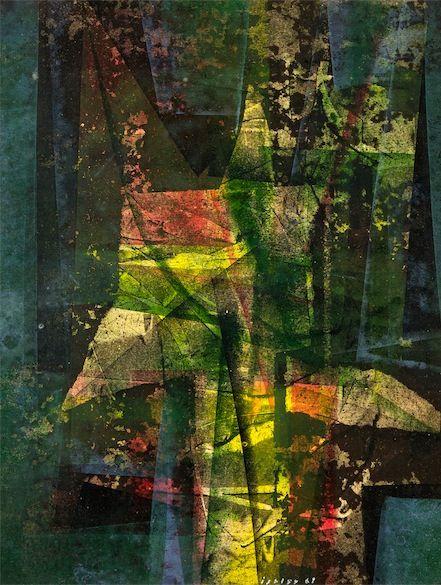Josef Istler (Czech, 1919 - 2000) Abstraktní kompozice 1969
