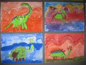 Kuvis ja askartelu: Dinosaurukset