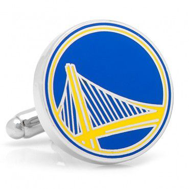 Join the splash brothers, Stephen Curry and Klay Thompson as they shoot their way into NBA history. Now with Kevin Durrant. Officially licensed NBA Golden State Warriors Cufflinks. Available at www.CUFFZ.com.au