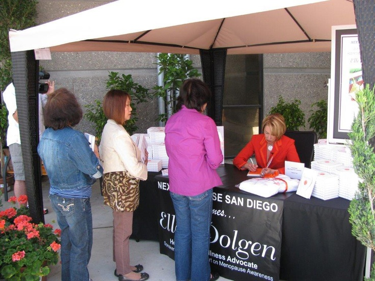 """#menopause and the #military book signing With the assistance of They Serve 2, a non-profit dedicated to supporting military service families, I was able to donate copies of my first book, """"Shmirshky: think inside the box"""" to spouses of servicemen, servicewomen, and civilians in military support positions."""