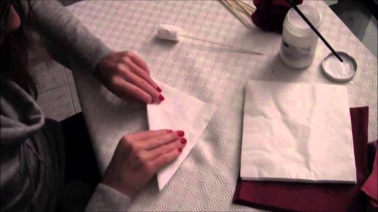 [TUTORIAL] #1 - Come fare rose con i tovaglioli di carta