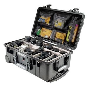 Pelican Case with Padded Dividers