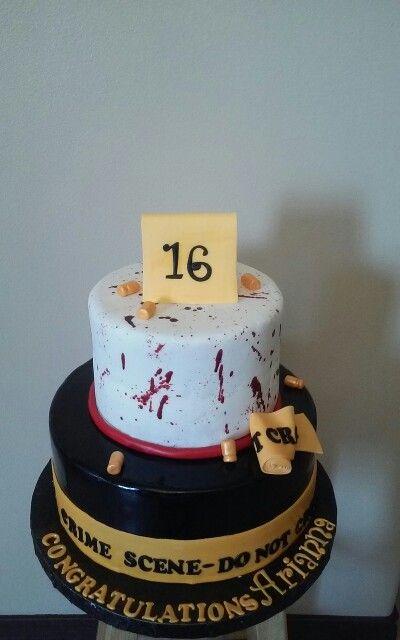 Graduation cake criminal justice Ariannas cake