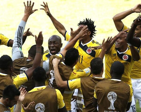 Colombia's Team Dance Is One of the Greatest Goal Celebrations in World Cup History