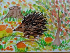 Уроки рисования для детей 4-5 лет