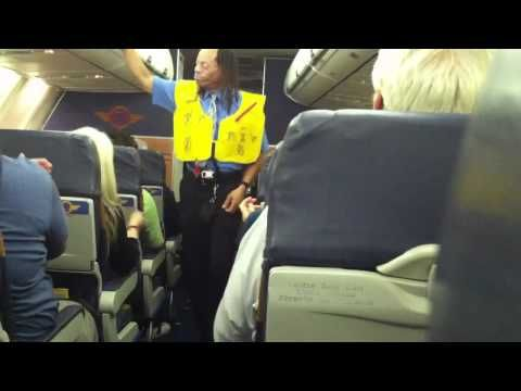 Real Funny | Southwest Airlines rapping flight attendant knows how to have fun at work.