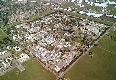 Aerial view of Lawrence Livermore National Laboratory