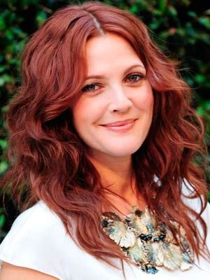 Drew Barrymore red hair