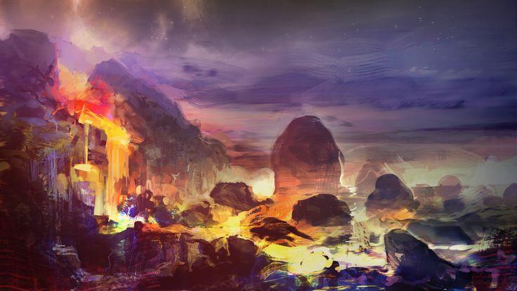 """Bilous Bohdan """"lava art"""""""