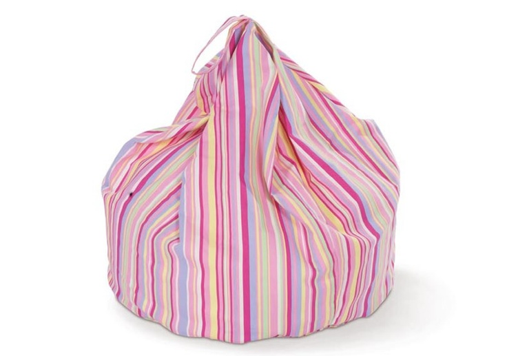 Candy Stripe Childrens Bean Bag! Click to buy!