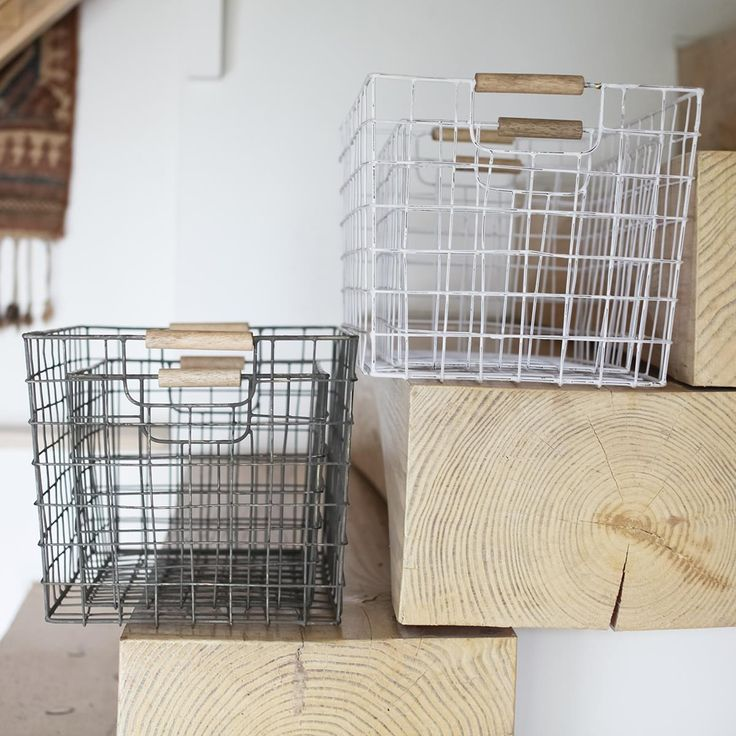 Huma Wire Basket (Set of 2)