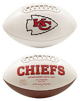 Kansas City Chiefs Limited Edition Embroidered Signature Series Football from Fotoball: The perfect item… #Sport #Football #Rugby #IceHockey