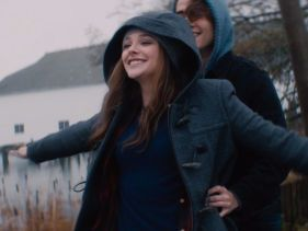 "MTV exclusive: Chloe Grace Moretz and Jamie Blackley in 1st trailer for the screen adaptation of ""If I Stay"" by Gayle Forman, due in theaters August 2014. #YA"