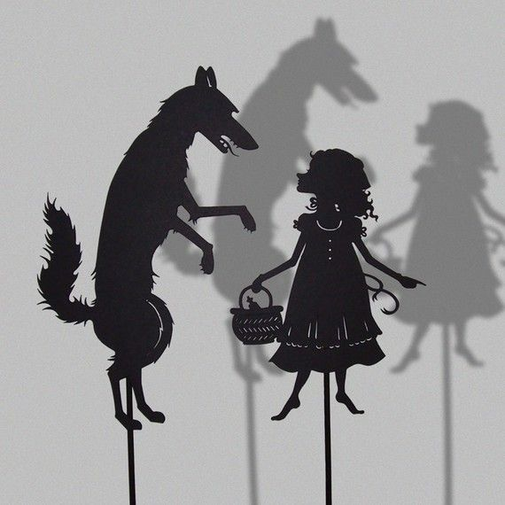 love these shadow puppets…
