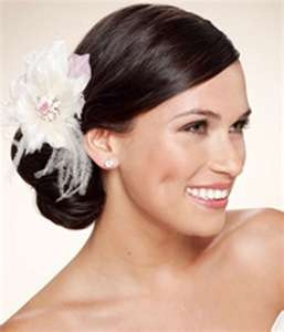 Image detail for -Wedding Side Bun Updos Hairstyles With Hair Accessories | Updos for ...