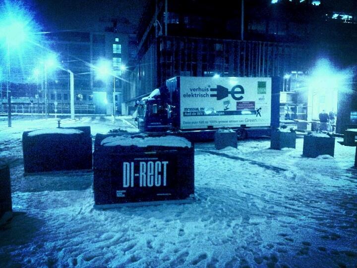 Elektrisch verhuizen zonder problemen in de sneeuw en vrieskou!