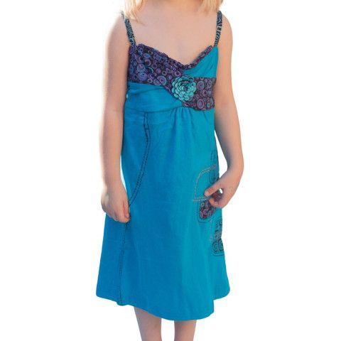 Sky Blue Girls Dress