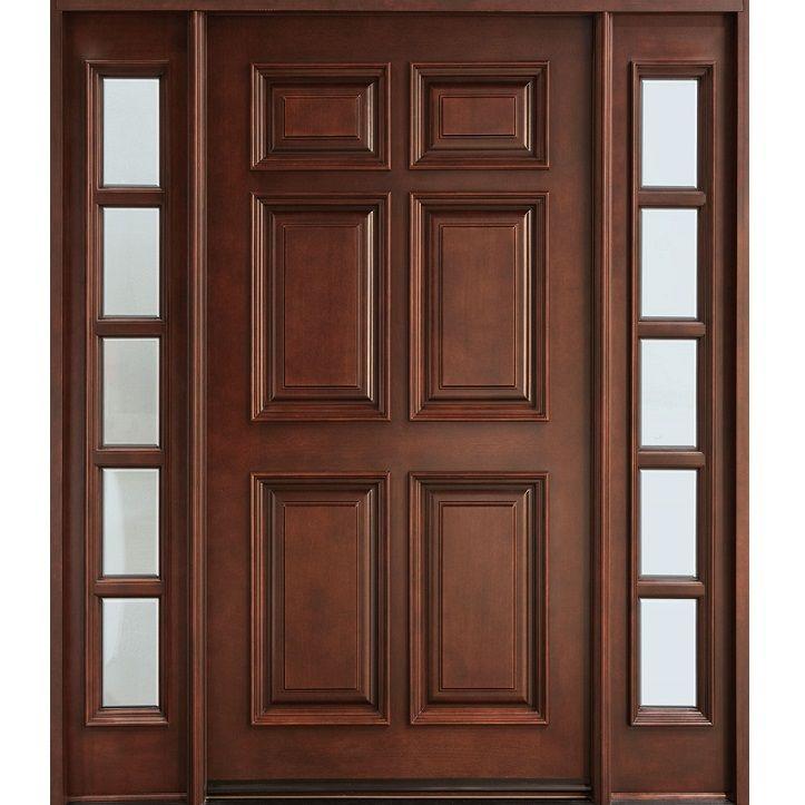 6 panel solid wood door hpd112 solid wood doors al habib panel doors