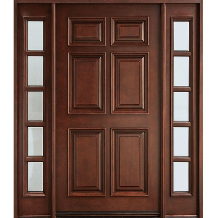 15 best images about solid wood door design on pinterest for Main entrance wooden door design