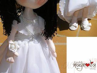 detalles muñeca de comunión