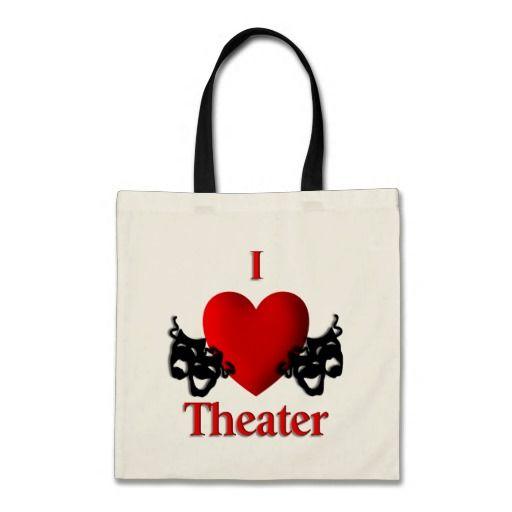 I Heart Theater Tote Bag