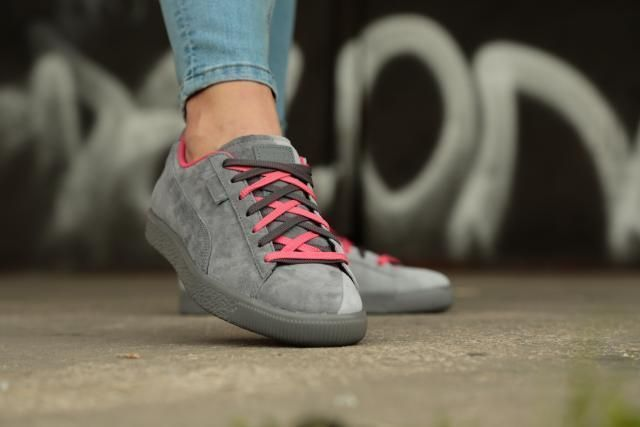 5dab3ed6c313 Puma x Staple Clyde NTRVL Fashion Sneakers   High Rise -Glacier Gray ...