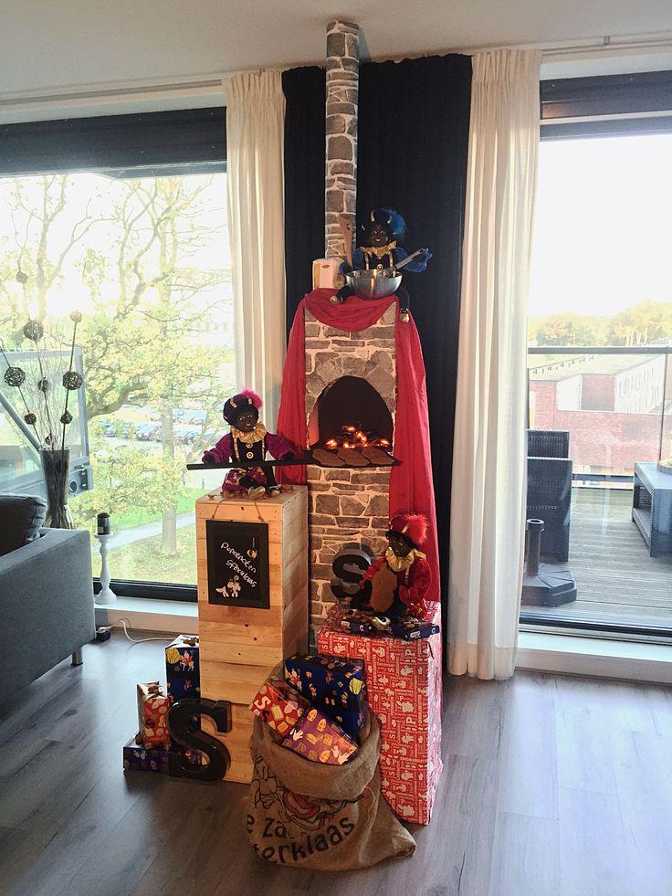 Sinterklaas Decor 2015. De pepernotenbakkerij! Weten hoe het gemaakt is? http://www.danieljanssen.nl/sint2015