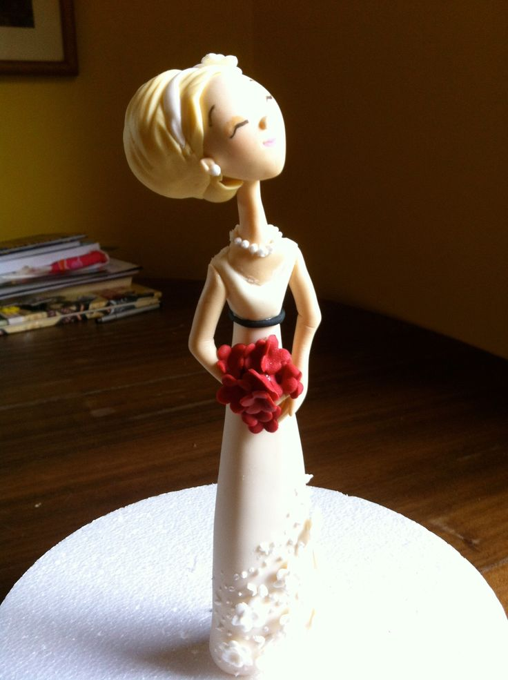 A bride I made at a class with Carlos Lischetti.