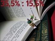 Foto: Anne Weißschädel Il 35,5% dei genitori italiani e il 15,5% di quelli tedeschi non legge mai un libro ai propri figli in prima elementare. È quanto emerge da un sondaggio condotto nel 2012, in parallelo all'indagine PISA, dall'OCSE. I ricercatori hanno rilevato che i bambini che frequentano i primi anni delle elementari, e che sono stati abituati dai propri genitori alla lettura, sono più avanti di 1,5 anni nella capacità di leggere rispetto ai loro compagni di scuola.