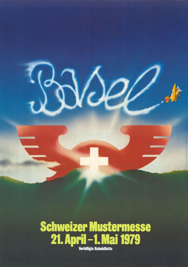 At. Bermann + Grieder Werbung, Basel Schweizer Mustermesse, 1979