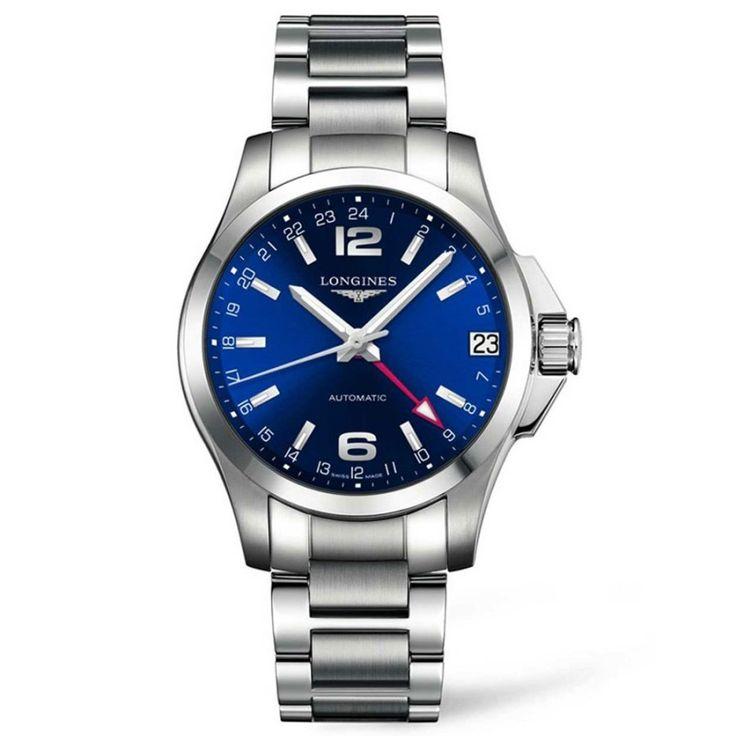 Reloj Longines Conquest GMT Hombre L36874996. Reloj 2º zona horaria